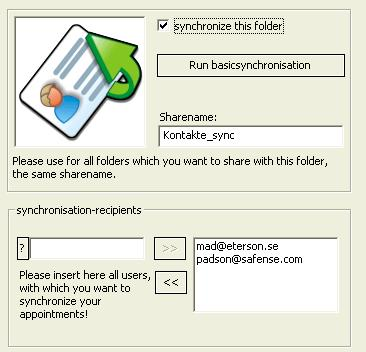 OLContactSync Allows You To Easily Synchronize Your Outlook Contacts With Any Other Users For Free